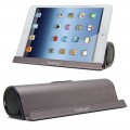 LuguLake Coffee color 610-S Aluminum Portable Bluetooth 4.0 Speaker with Stand Dock