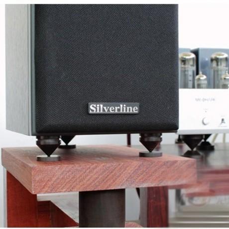 LuguLake Ebony Wood & Brass Speaker Spike for Amplifier/Studio Monitor/CD Player/TV Speaker
