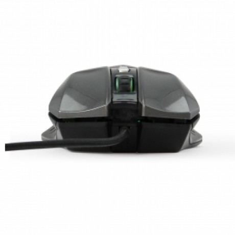 LuguLake High Precision Ergonomic Laser Game Mouse With 4-speed max 3200DPI,7 Programmable Keys