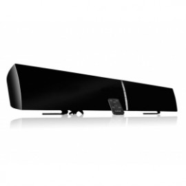 LuguLake 40watt TV Soundbar Speaker Stereo 2.0 Channel Home Theater W/ NFC Bluetooth - 39 inch