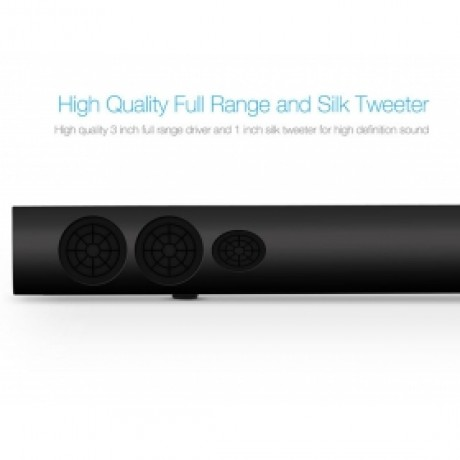 LuguLake 40watt TV Soundbar Speaker Stereo 2.0 Channel Home Theater W/ NFC Bluetooth - 39 inch