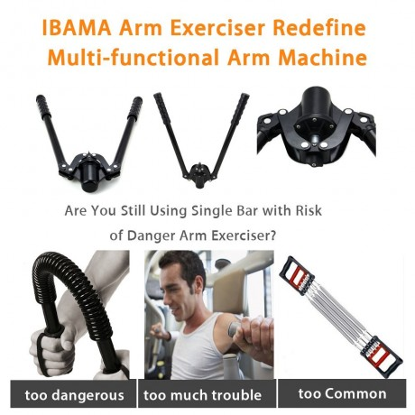 IBAMA Arm Strength Fitness Exerciser Machine Office Sub-Health Relief Trainer