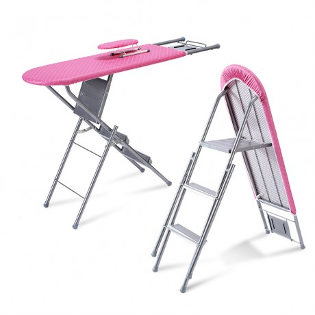 Two-in-one Function Ironing Board