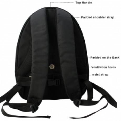 Okbuynow Pet Carrier Travel Backpack Soft-sided Shoulder Bag for Cat or Dog