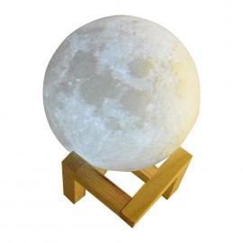 8-20cm Diameter 3D Print Moon Lamp USB LED Night Light Moonlight Gift Touch Sensor Color Changing Night Lamp Home Bedroom Decor