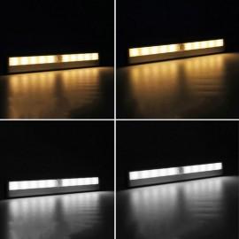 L0406 10 LED IR Infrared Motion Detector Wireless Sensor Closet Cabinet Light Lamp