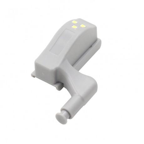10Pcs 0.25W Inner Hinge LED Sensor Light For Kitchen Bedroom Living room Cabinet Cupboard Closet Wardrobe Night Lights