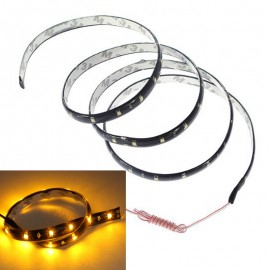 2pcs 60 SMD LED Flexible Waterproof Neon Strip Light Lamp Car Van Truck 12V 1.2M 6 Colors CLH