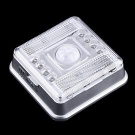 8 LED Light Lamp  Wireless Infrared  PIR Auto Sensor Motion Detector  88 --M25
