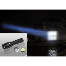 Lanterna CREE XM-L T6 5200LM Tactical Flashlight Torch Zoom Linternas LED Flashlight for 3xAAAor 18650 Rechargeable Battery