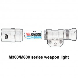 AIMTIS M600C Tactical Scout Light Rifle Weapon Flashlight  LED Hunting Spotlight Constant and Momentary Output with Tail Switch