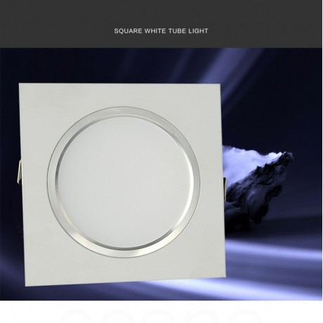 1pcs Super Bright Recessed LED Dimmable Square Downlight 5W 7W 9W 12W 15W LED Spot light decoration Ceiling Lamp AC 110V 220V