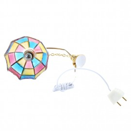 MACH Best Sale Doll house miniature beautiful color ceiling lamp light Hanging lamps