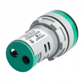 1PC 22 MM Digital Display Voltmeter Lights Combo AC 60V-450V Indicator