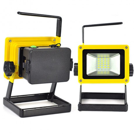 CARPRIE 30W 24 LED Portable Rechargeable Flood Light Spot Work Camping Fishing USB Lamp l70310