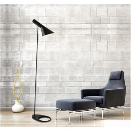 AJ Floor Lamp E27 Black/White Arne Jacobsen Louis Poulsen Metal Stand Floor Lights For Living Room/Country House/Bar/Hotel