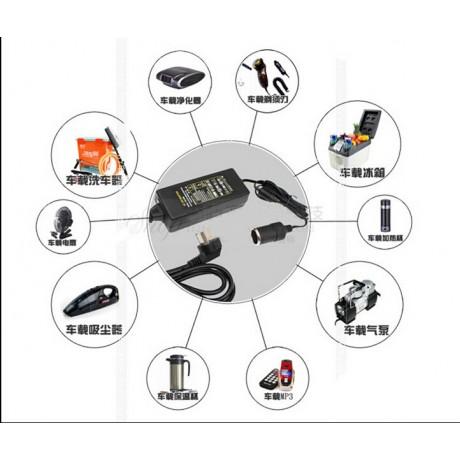 60W AC 100V-240V 100V 220V to DC 12V Car Cigarette Lighter