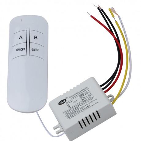 3 Style AC 220v Wireless ON/OFF 1way 2ways 3ways Lamp Light Digital Remote Control Switch Receiver Transmitter