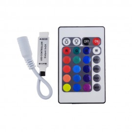 12V 24Key LED Controller RGB IR Remote controller for  5050/3528/5730/5630/3014 RGB LED Strip Light 24 Key RGB Remote  1pcs/LOT
