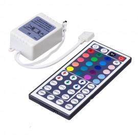 OSIDEN Led Controller 44 Keys LED IR RGB Controler LED Lights Controller IR Remote Dimmer  DC12V 6A For RGB 3528 5050 LED Strip