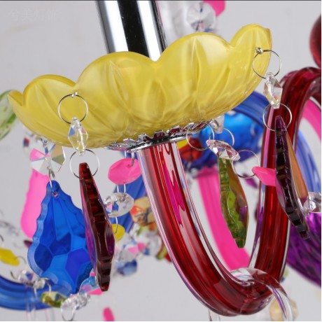 Kitchen chandelier Light Fixtures K9 crystal 6 Lights lustres para sala de jantar for Bedroom modern chandeliers china