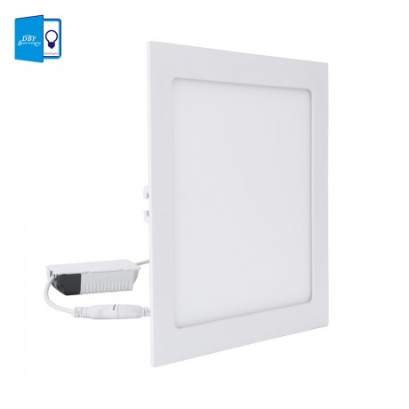 Ultra Thin 3W 4W 6W 9W 12W 15W 18W LED Ceiling Recessed Lamp Downlight Round/Square LED Panel Light Warm White/White Home Decor