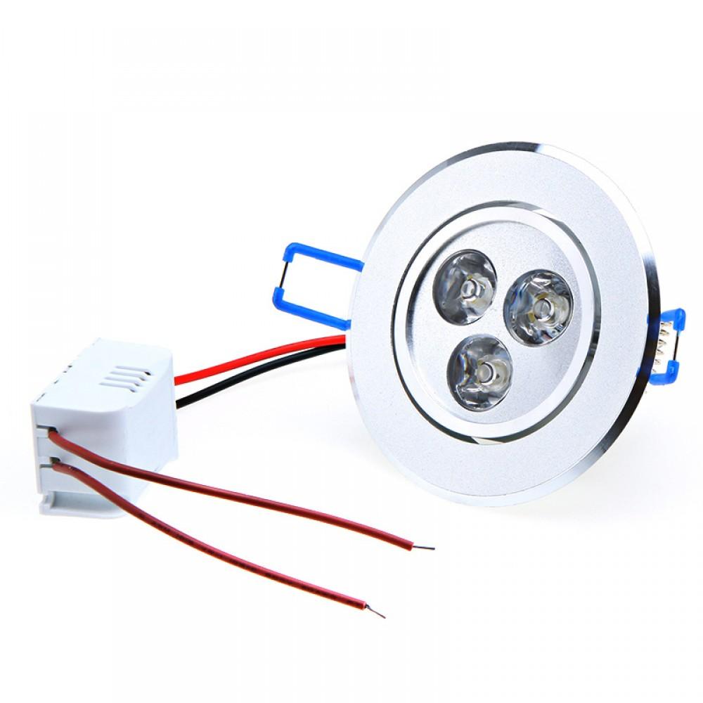Wholesale 9W Ceiling downlight Epistar LED ceiling lamp Recessed Spot light AC85-265v for home illumination led bulb light