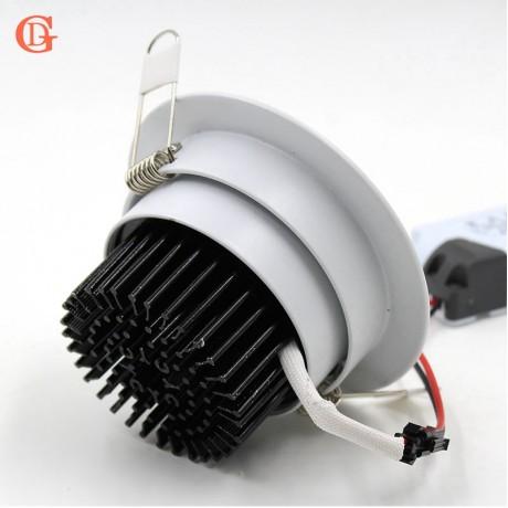 Dimmable LED Downlight  3W 5W 7W 10W 12W 15W 20W 24W Spot LED DownLight Dimmable 220V LED Spot Recessed Downlight White house