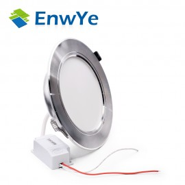 EnwYe Silver high power led downlights Ceiling lamp 5730SMD 10W 15W 20W 1110V 220V led lamp led light