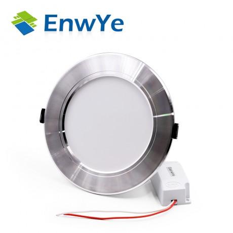 EnwYe Silver high power led downlights Ceiling lamp 5730SMD 10W 15W 20W 1110V 220V led lamp led light