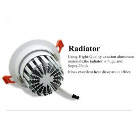 [DBF] New model LED Dimmable Downlight COB 6W 9W 12W 15W 18W 20W LED Spot light LED decoration Ceiling Lamp AC 110V 220V