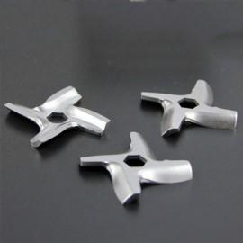 3Pc New Stainless Steel Hexagon Blade Mincer Knife MS-0926063 HV2 HV3 HV4 HV6 For Meat Grinder Parts #5 Blade SR012