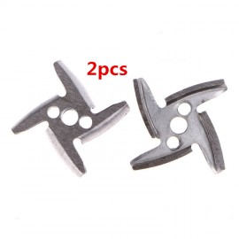 2pcs meat grinder knife parts for meat grinders 420 stainless steel knives  meat grinder parts Throwing nikves