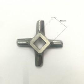 2 Pieces  All stainless steel  Meat Grinder Parts #8 Blade Mincer Knife KW658522 Fits Kenwood S/S420  fits Moulinex Bork Zelmer