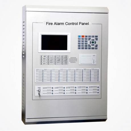 Addressable  fire alarm control panel  4 loops for 1020 Addressable  points   2 bus Linkage type facp