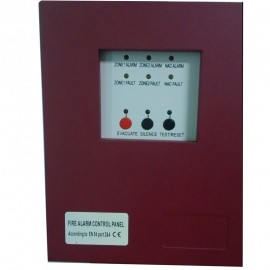 2 Zones Mater  or salve Fire Alarm Control Panel MINI Fire Alarm Control System Conventional Fire  Control Panel