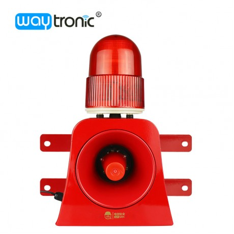 Industrial Audible and Visual Alarm Device 100m Wireles Remote Control Beacon Siren Download Alarm Sound from USB Flash Drive