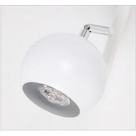 Rotated Track Lighting LED track light for store shopping mall lighting lamp White black Spot light Ceiling Tracking Lamp