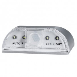 Home IR Motion Sensor Detector Auto PIR LED Light Lamp Track Lighting for Door Keyhole Stairway CLH