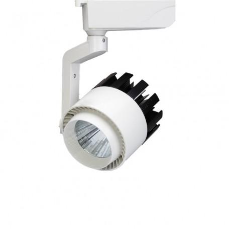 High Power COB LED Track Light 20W / 30W Track Rail Spotlight Lamp for Commercial Store Office Home Lighting