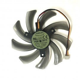 EVERFLOW T129215SM 95mm 3PIN computer cooler fan for Gigabyte GV-N650OC-1Gl 2Gl GV-N550WF2 N56GOC R667D3 R777OC