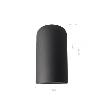 7W/9W AC85-265V Fashion Aluminum LED Ceiling Downlight Warm White / White / Natural White Gray Black White body