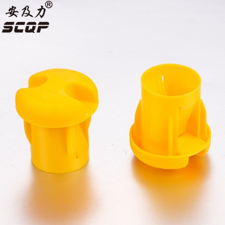 18-30MM Large Reinforced Protective Cap Plastic Cable Wire Thread Cover Steel Pole Tube Pipe Protecting Construction End Caps