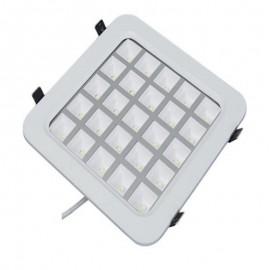25W LED Grill Light Bulb Panel Grille Lamps Indoor Ceiliing Lighting 85~265V Lights