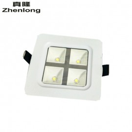 AC85~265V 4W Square White shell LED grille light,LED kitchen light Led Recessed Grid Lighting