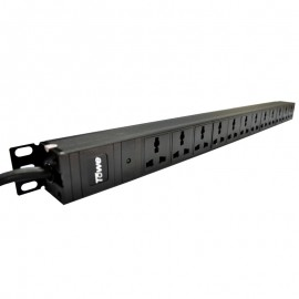 "TOWE EN16/W1201 16A 12 WAYS universal GB2099.3 PDUs 19"" Cabinet socket Horizontal/Vertical installation Power distribution Units"