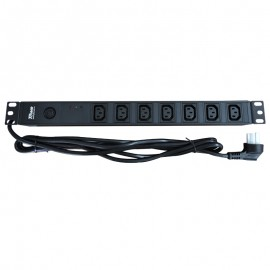 TOWE EN10/I709PS 10A 7 WAYS IEC320 C14 PDU WITH SPD and over load protect PDUs Cabinet socket  Power distribution Units