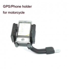 360 degree Rotation Motorcycle Holder Stand Mount Bracket For Mobile Phone PDA GPS Navigation Rearview Mirror Mount Holder