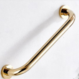 700Brass, 35cm, Grab Bar, Polished Gold, FS01GJ35, solid brass