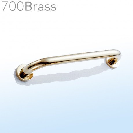700Brass, 35cm, Grab Bar, Polished Gold, FS01GJ35, solid brass